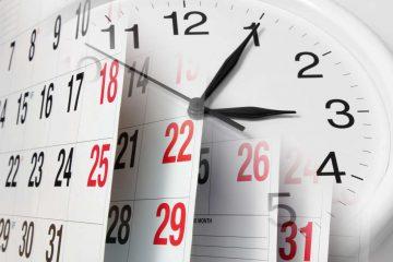 Определение сроков исполнения заказов